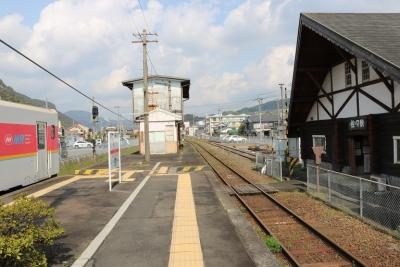 松浦鉄道・佐々駅