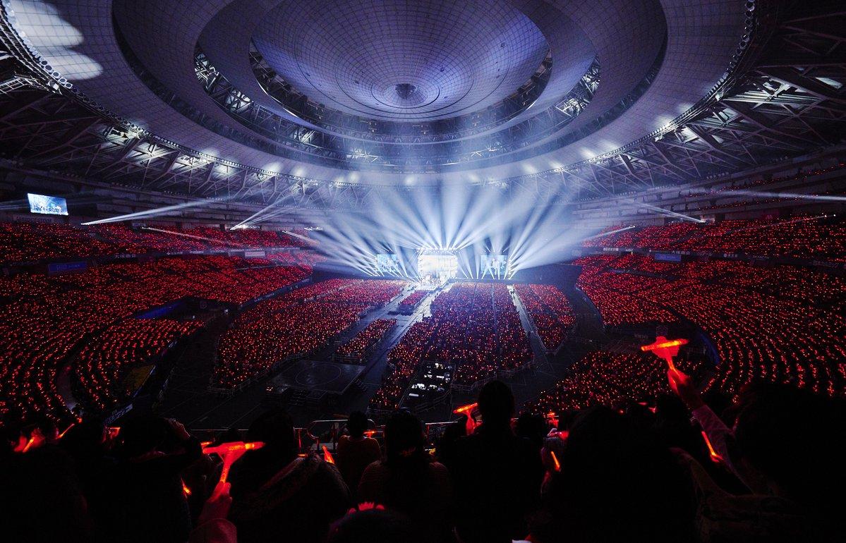 全国8カ所のアリーナツアーに、東京ドーム、京セラドーム大阪公演を加えた10カ所33公演で計68万人を動員