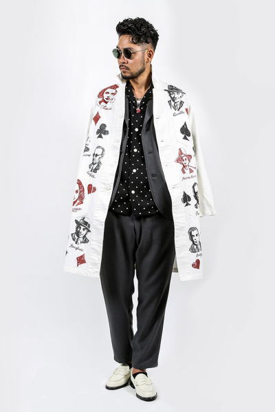GANGSTERVILLE VIRGINIA-H/S HEGANGSTERVILLE MOVSTER-COAT LONG TUMBLING DICE-JACKET TUMBLING DICE-PANTS DIAMONDS-L/S SHIRTS