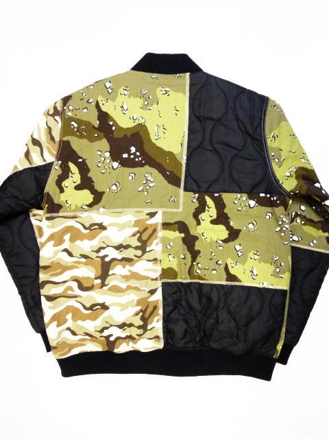 INTERFACE P/W CAMO RIB JKT