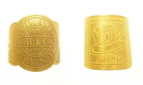 GLA DHAND GH CIGAR TAG-RING HAT QUALITY MADE