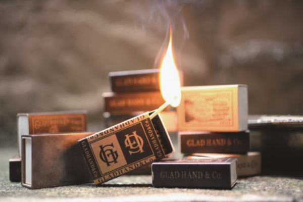 GH-SAFETY MATCHES B&W