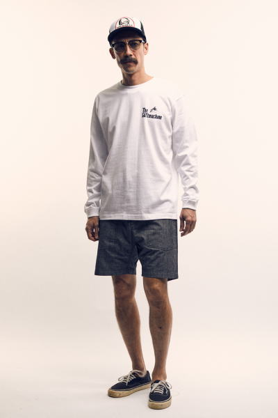 SOFTMACHINE BATTLE ROYALE L/S SMITH CHAMBRAY SHORTS WILLIAM CAP MASTER GLASS