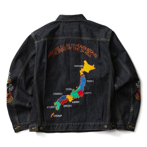 SOFTMACHINE TERRITORY DENIM JK