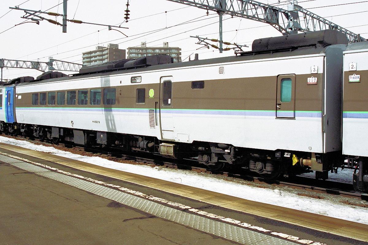 DC183系(キハ183系特急型気動車...