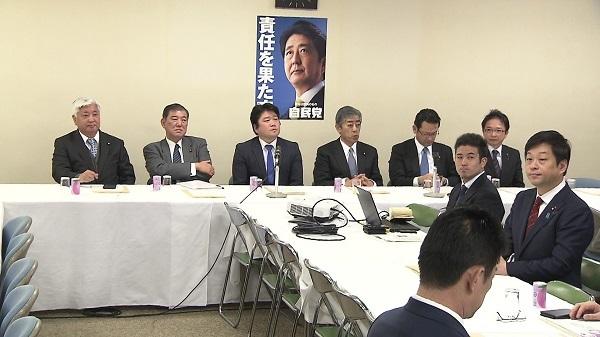 自民党・国防部会(1月22日 自民党本部)