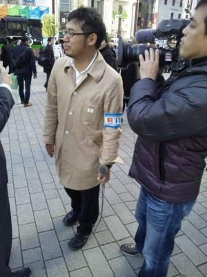 平成23年12月19日に新橋駅前で民主党と警察による「国民排除」の暴挙を笑って見ていただけで、全く批判しなかったTBS