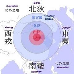 朝鮮人は、「華夷秩序」において、日本(東夷)は朝鮮(小中華)よりも下にあって支那(大中華)や南北朝鮮(小中華)に従うものと決め付けている。