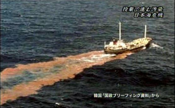 1988年から、韓国は、家畜糞尿と下水汚泥(スラッジ)など廃棄物を日本の近海へそのまま投棄している!