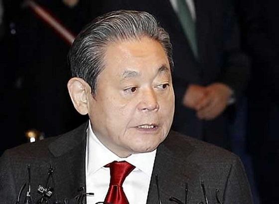 サムスンの李健熙(イ・ゴンヒ)会長