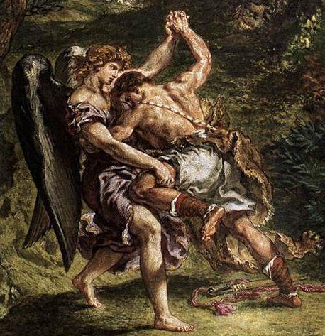 聖書によれば、ヤコブが天使と相撲をしてヤコブが天使に勝ったので、天使から「イスラエル(勝利者)」と名乗るがよいと言われたため、ヤコブの住む国がイスラエルと呼ばれる国になった。