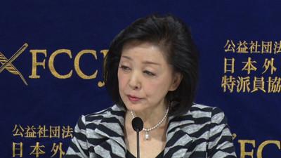 ジャーナリスト・櫻井よしこ氏が会見(全文1)私は日本会議とは何の関係もない