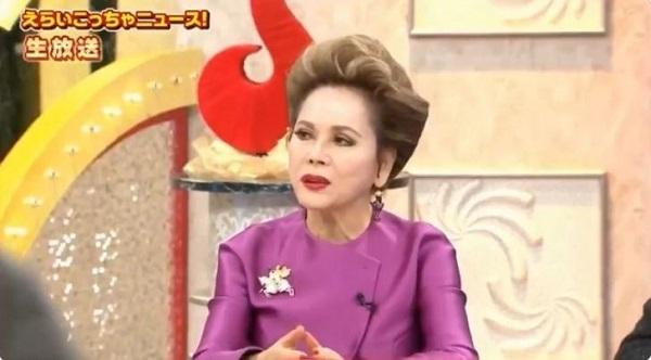 デヴィ夫人「韓国の映画は日本で映さない、韓国に金を落とすな。約70年前の事を未だに言ってるって凄い」