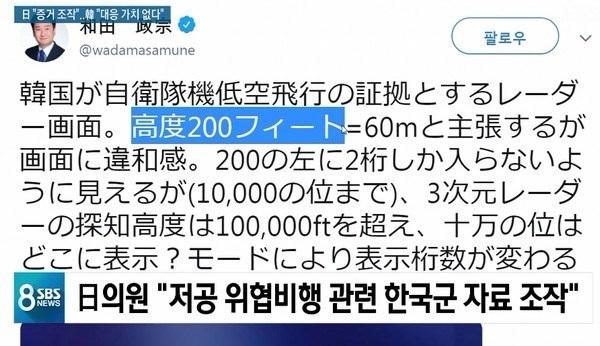 日本議員が哨戒機飛行写真の捏造説を提起・・・韓国軍「対応する価値もない荒唐な主張」と一蹴
