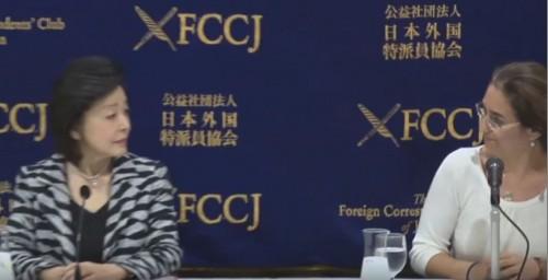 外国特派員協会司会者、記者会見で櫻井よしこ氏を『歴史修正主義者』と紹介 櫻井氏『歴史を書き換えようとしているのは、朝日新聞であり植村隆』