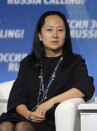 逮捕されたファーウェイ(華為技術、HUAWEI)の創業者(支那の人民解放軍の出身者)の娘である孟晩舟・副会長兼最高財務責任者(CFO)