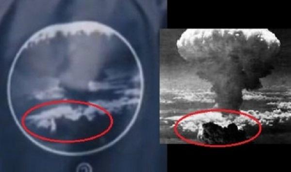 細かな部分が完全に一致している。 韓国人アイドルグループ「BTS」(防弾少年団)が、日本に投下され多くの人々が命を失った原爆をデザインしたシャツを着用して問題視されているが、先日、原爆をデザインしたブルゾン