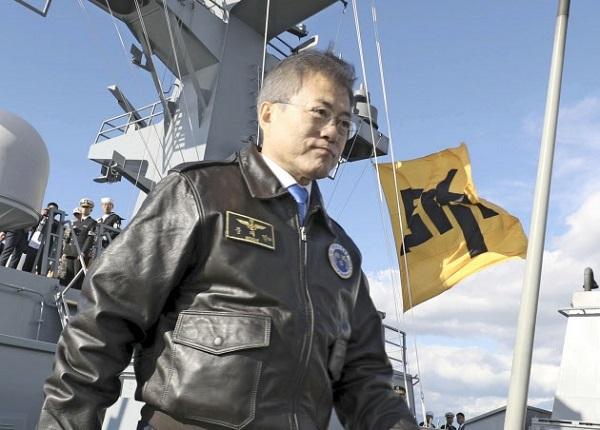 韓国海軍、李舜臣象徴旗「問題なし」