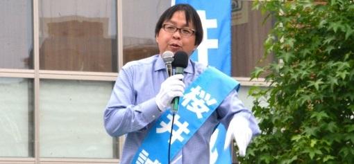 早稲田大学の学園祭で人物研究会が桜井誠の講演会