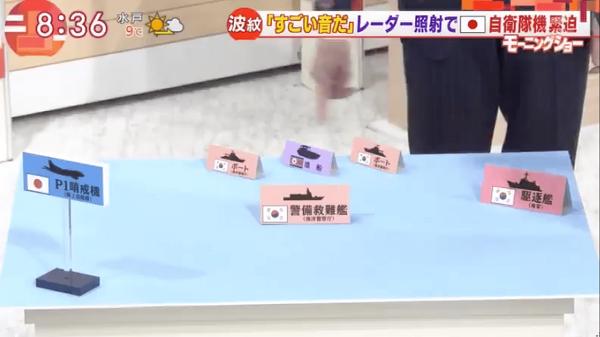 【レーダー照射】テレビ朝日、ついに韓国艦隊を「瀬取り」と言ってしまう…