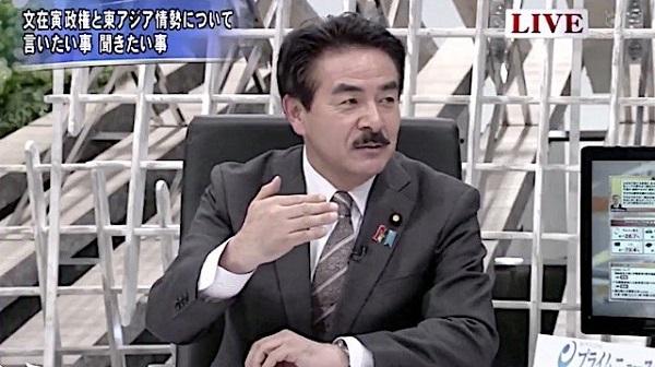 佐藤正久外務副大臣の嘘と誤魔化し・「日本にまだ実害ない。先に韓国に制裁を科すとWTOで負ける」視聴者メール「韓国疲れも限界」→ 佐藤議員「先に制裁を科すとWTOの方で負ける。実態を知らせることが大事。準