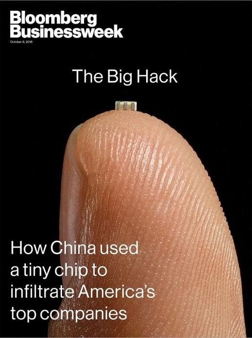 日本政府が見つけた「余計なもの」とはこのような目的不明のチップのことを指す。その後すぐに政府機関と自衛隊でファーウェイ製品の使用が禁止されることになったのでスパイチップ