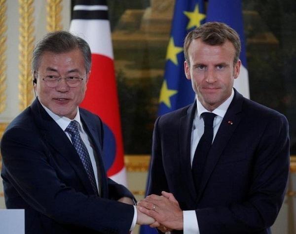 仏大統領、韓国の「制裁緩和」要請から2日後に日本と「制裁強化」約束=韓国ネットがっかり