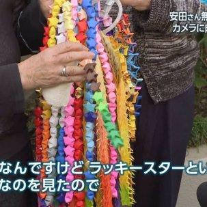 安田純平の両親が折った千羽鶴、韓国式の謎