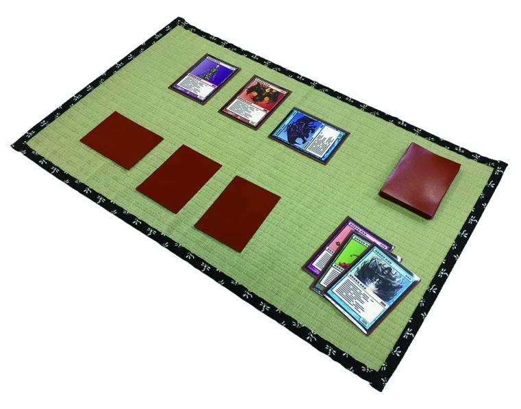 カードプレイマット畳 黒蜻蛉1