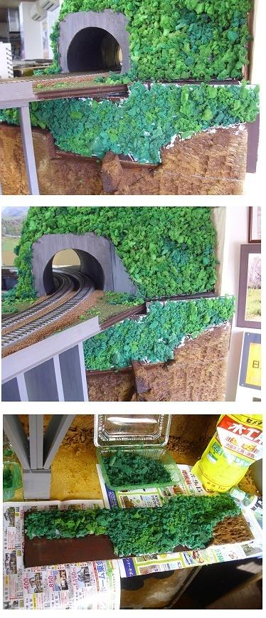 トンネル下茂み5