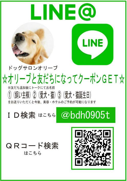 lineID-登録チラシ予約1