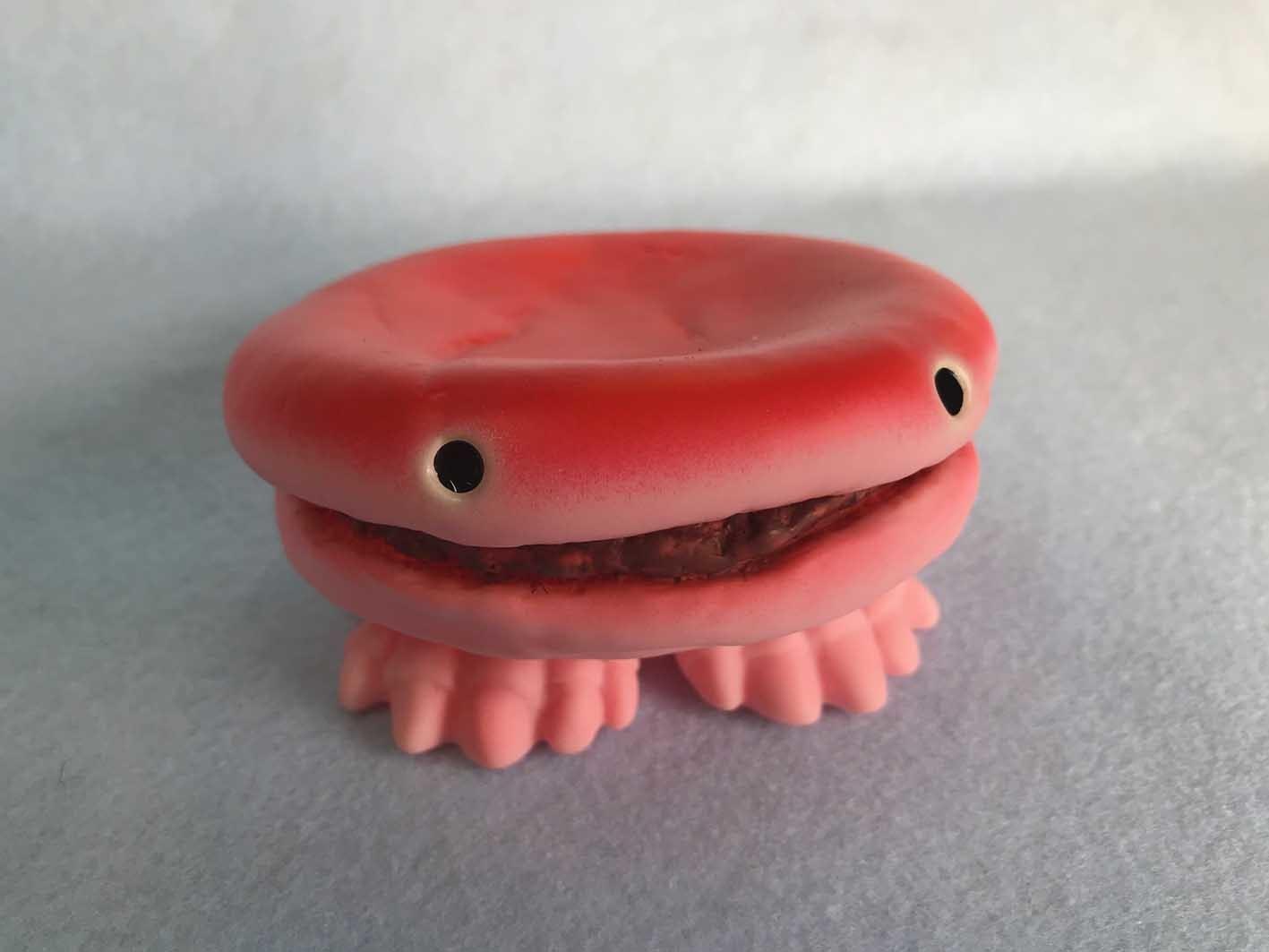 食卓の怪獣ストロベリーバルガー