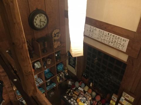 癒しカフェ マジックマレット 二階