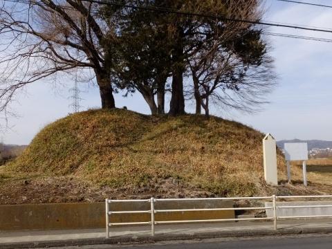 根小屋の富士塚・相模原市緑区