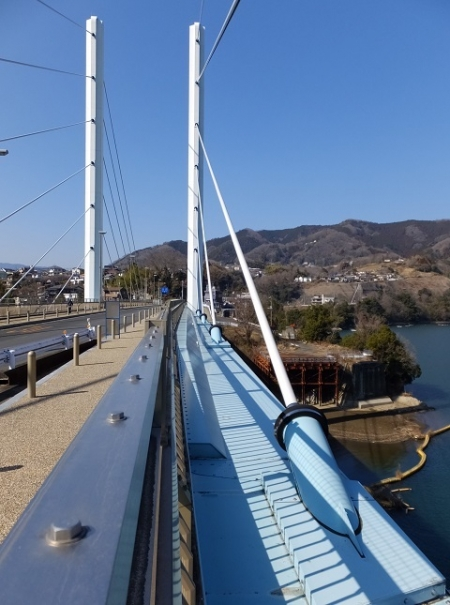 相模湖の勝瀬橋