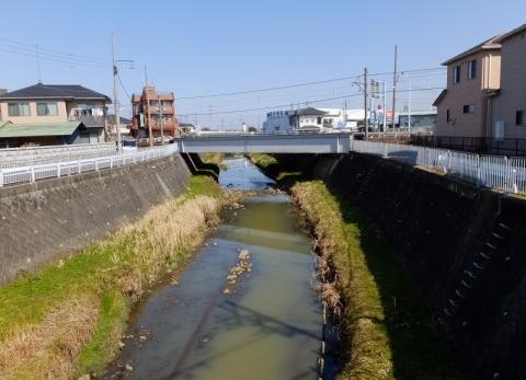 永池川・海老名市門沢橋
