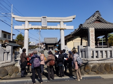 渋谷神社・海老名市門沢橋