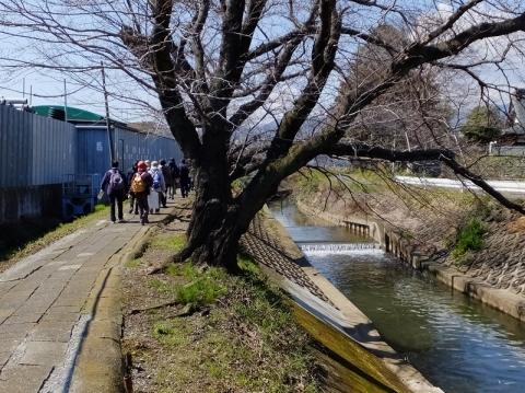 渋田川・太田道灌墓所付近