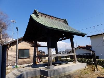 高部屋神社の鐘楼