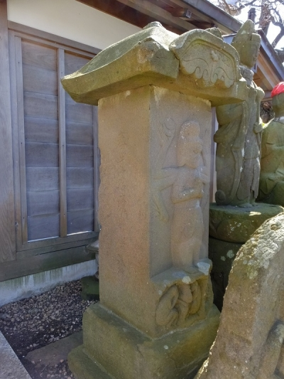 耕雲寺の庚申塔