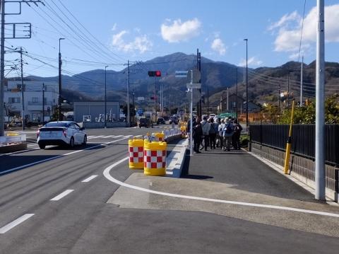 大山道・石倉橋交差点
