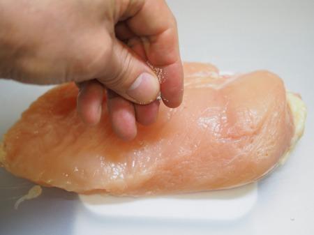 鶏むね肉の塩レモン蒸し028