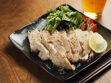 鶏むね肉の塩レモン蒸し013