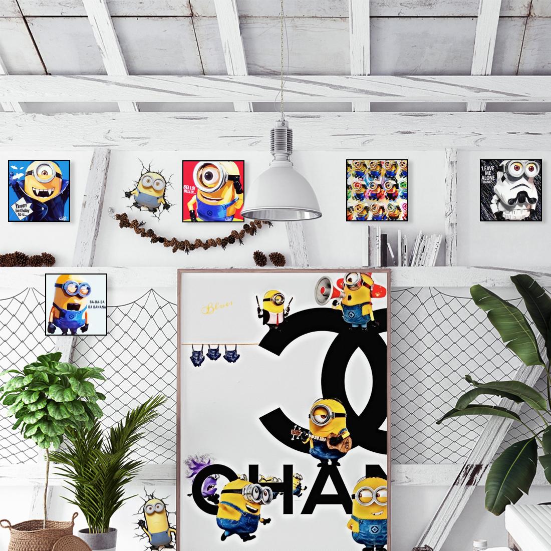 minion × CHANEL Ver.1|オマージュアート/アートポスター専門店 ARTLIFE GALLERY
