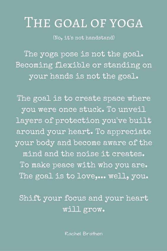goal of yoga