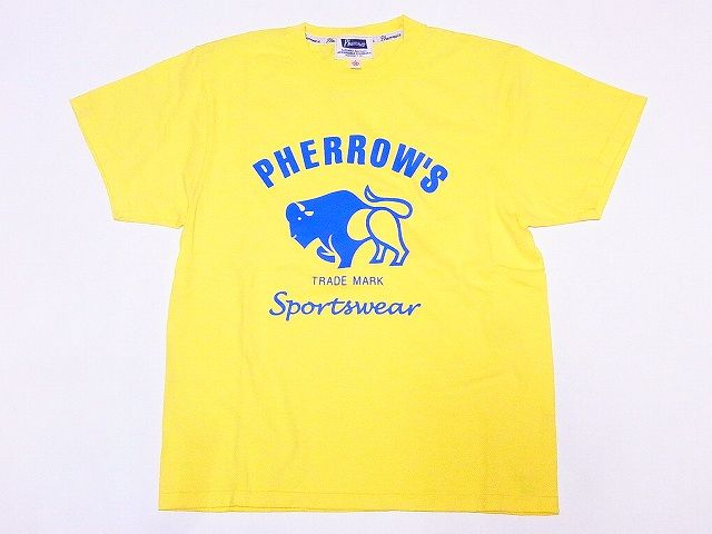フェローズ Pherrow's Tシャツ 19S-PT2