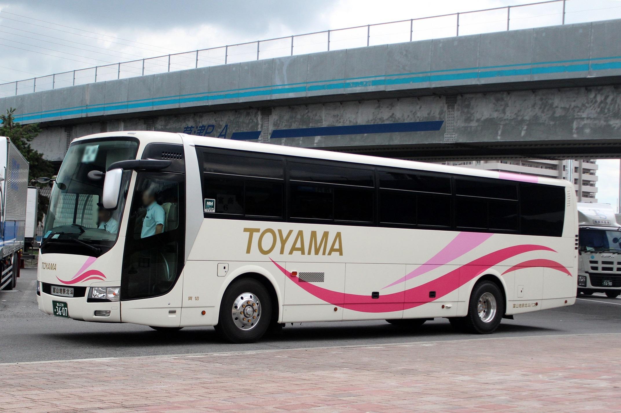 富山地鉄北斗バス あ3607