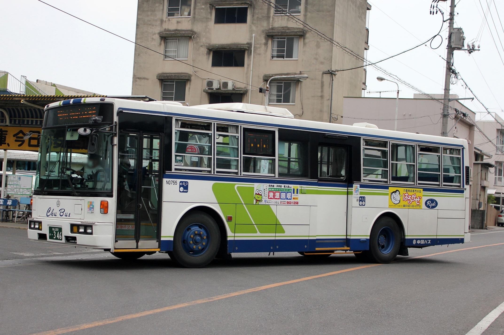 中国バス N0755