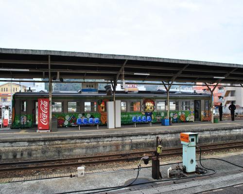 列車スタンバイ