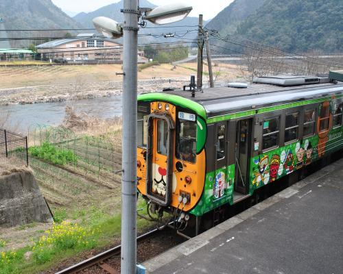 松丸駅からのおさんぽにゃんよ号